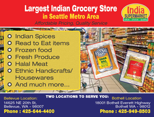 India Super Market Bellevue Grocery Stores Seattle Indian